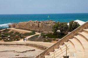 Caesarea Amphitheater Sea Dana Friedlander Imot