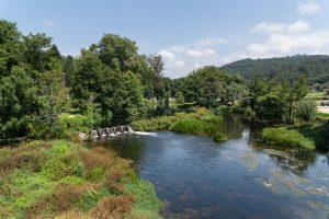 Vista Desde El Puente De Caldas De Reis Al Rc3ado Bermac3b1a