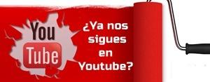 ¿Nos sigues en Youtube?