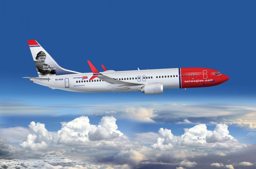 Norwegian 737