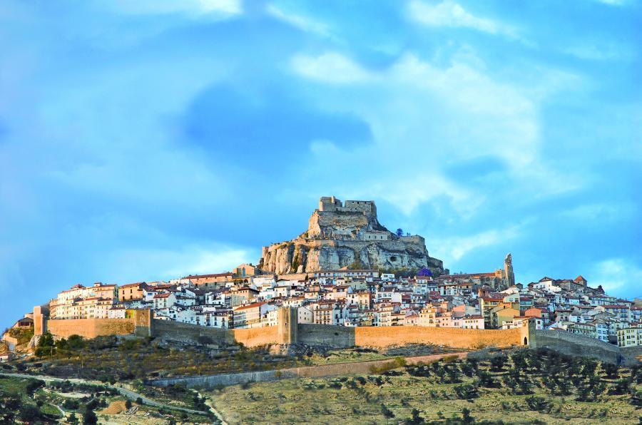 Morella, Castellón. Camino del Cid