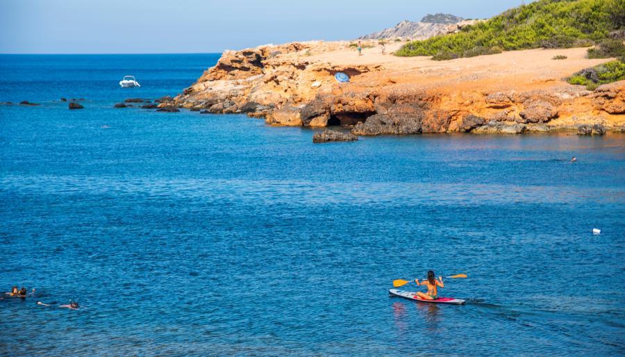 Conocemos las playas de Santa Eulària des Riu, Ibiza