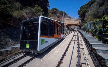 El Funicular de Vallvidrera retoma el servicio habitual una vez terminadas las manchas de revisión anual
