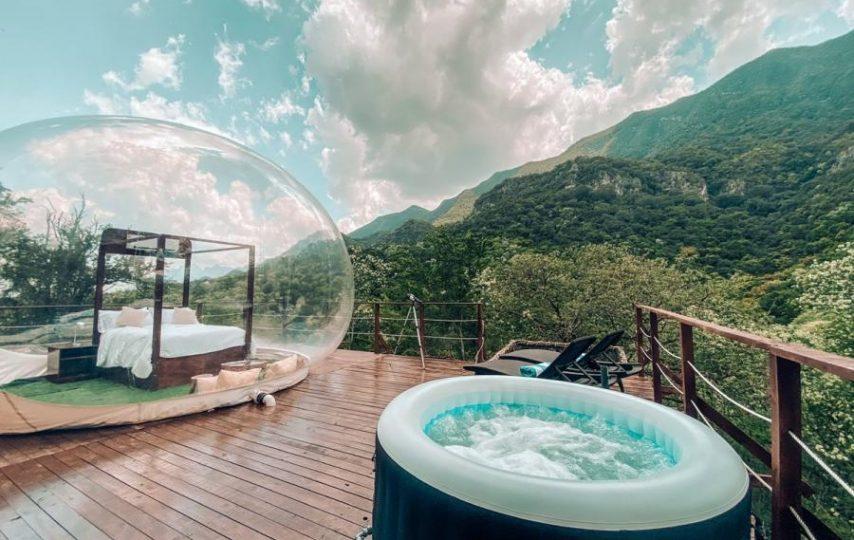 ¿Quieres dormir en un Hotel Burbuja?