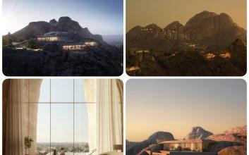 Se presenta en Arabia Saudí un complejo turistico construido dentro de la Roca