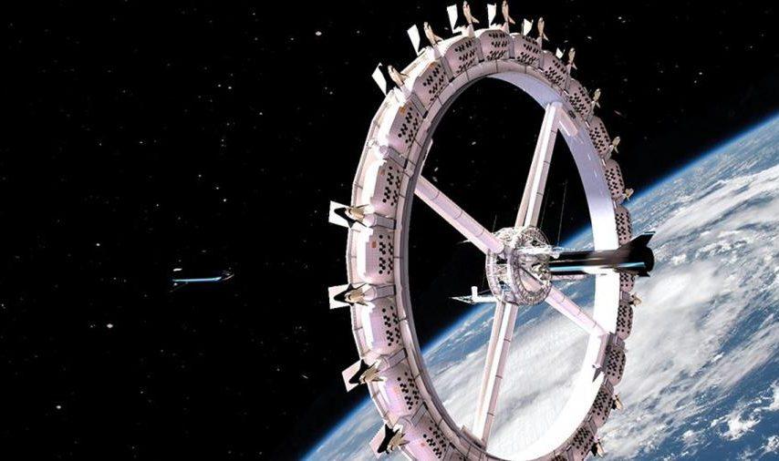 En 2027 abrirá el primer hotel espacial
